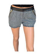 Olsenboye Faux-Leather Trim Retro Tweed Shorts Size 3, 5, 9, 11, 13 MSRP... - $14.99
