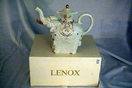 Lenox 2003 The Jeweled Elephant 6 Cup Tea Pot NIB - $62.99