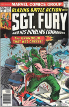 Sgt. Fury and His Howling Commandos Comic Book #135 Marvel 1976 VERY GOOD+ - $4.99