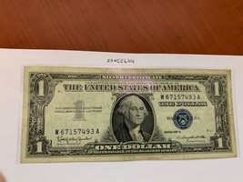 United States $1.00 banknote 1957 #33 - $17.95