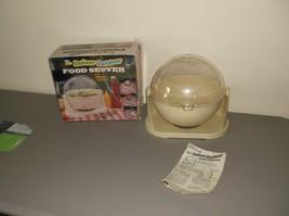 Indoor Outdoor Food Server with Swivel Cover Cover Bernard Industries Co. - $64.35