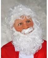 Santa Mask St. Nick Beard Old Man Moses Christmas Halloween Costume MB1006 - $72.99