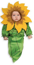 Newborn Sunflower Bunting Halloween Costume - $21.00
