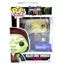 Funko Pop Heroes Suicide Squad Killer Croc (Hooded) 150 Walmart Exclusiv... - $9.89