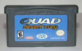 Nintendo Game Boy Advance - Quad Desert Fury (Game Only) - $6.25