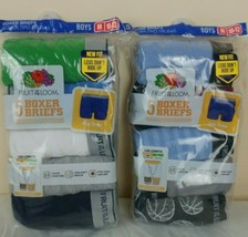 FRUIT OF THE LOOM Boys Med (10-12) Boxer Briefs 5 Pack (Lot of 2) = 10 P... - $13.86