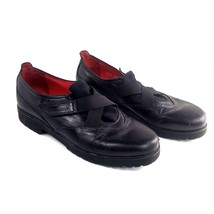Pas De Rouge Black Leather Shoes Size 36.5 US S... - $22.49