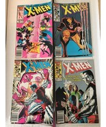 Uncanny X-Men #207 208 209 210 Marvel Comic Book Lot From 1986 FN+/VF Co... - $20.92