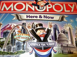 Monopoly Game - Here & Now (America Has Voted!) Board Game - $14.50