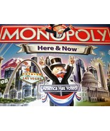 Monopoly Game - Here & Now (America Has Voted!) Board Game - $18.50