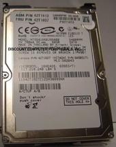 60GB 5400RPM SATA-1.5GBS 2.5 INCH NOTEBOOK DRIVE HITACHI HTS541660J9SA00 Free US