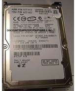 60GB 5400RPM SATA-1.5GBS 2.5 INCH NOTEBOOK DRIVE HITACHI HTS541660J9SA00... - $19.77