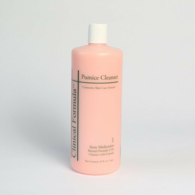 Primary image for CLINICAL FORMULA Pumice Exfoliating Cleanser w/Benzol Peroxide - 32 oz/ 1 Quart