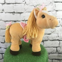 Appalachian Artworks Cabbage Patch Pink Poseable Pony Horse Plush Mare - $19.79