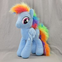 "Rainbow Dash My Little Pony Plush 17"" Rainbow Hair Wings Lightning And C... - $34.23"