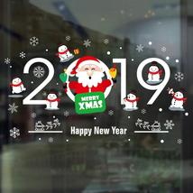 Merry Christmas Decorations For Home New Year Cartoon Santa Claus Nine-C... - $3.39