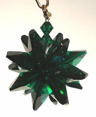 J'Leen Emerald Small Suncluster with Austrian Crystal