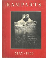 RAMPARTS MAGAZINE VOL 2, #1-5, May 1963 TO SPRING 1964 COMPLETE IN RED S... - $247.50