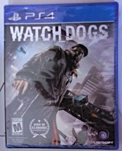 "PS4 Game ""Watch Dogs"" New Sealed (small chip in corner of case"" - $20.00"