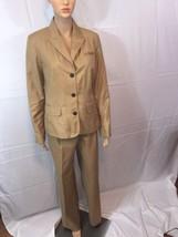 isaac mizrahi for Target Tan 2-pc business suit sz 10 pants And Size 10 ... - $24.02