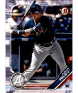 Austin Riley 2019 Bowman Prospect Card #BP-129 - $2.00