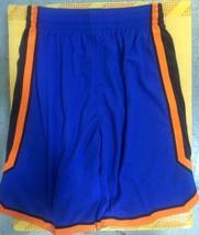 Adidas Swingman NBA Shorts New York Knicks Team Blue sz XS - $29.69