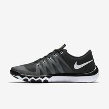 the latest 9d894 62519 HERREN Nike Free Trainer 5.0 V6 Schuhe Schwarz Weiß Grau Volt 719922 010 -   57.16
