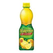 ReaLemon 100% Lemon Juice, 15 Fluid Ounce Bottle Pack of 12