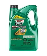 Castrol 03102 GTX High Mileage 5W-30 Synthetic Blend Motor Oil, 5 Quart - $29.94
