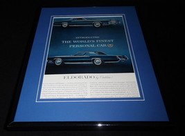 1966 Cadillac Eldorado 11x14 Framed ORIGINAL Vintage Advertisement - $41.71