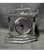 Lenox Quartz Ovation Monument Crystal Clock - $16.99
