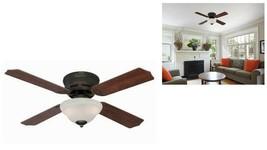 Westinghouse 72305 (42'') Hadley Indoor Ceiling Fan w/ Light Oil Rubbed ... - $79.20