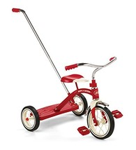 Radio Flyer Classic Tricycle with Push Handle, Red (Red Standard Packaging) - $83.97