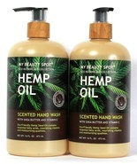 2 My Beauty Spot 16 Oz Eco Botanicals Collection Hemp Oil Shea Butter Ha... - $20.99