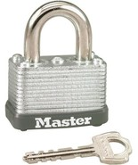 Master Lock 22D Wide Warded Laminated Padlock, 1.5 inches, Steel - $9.99