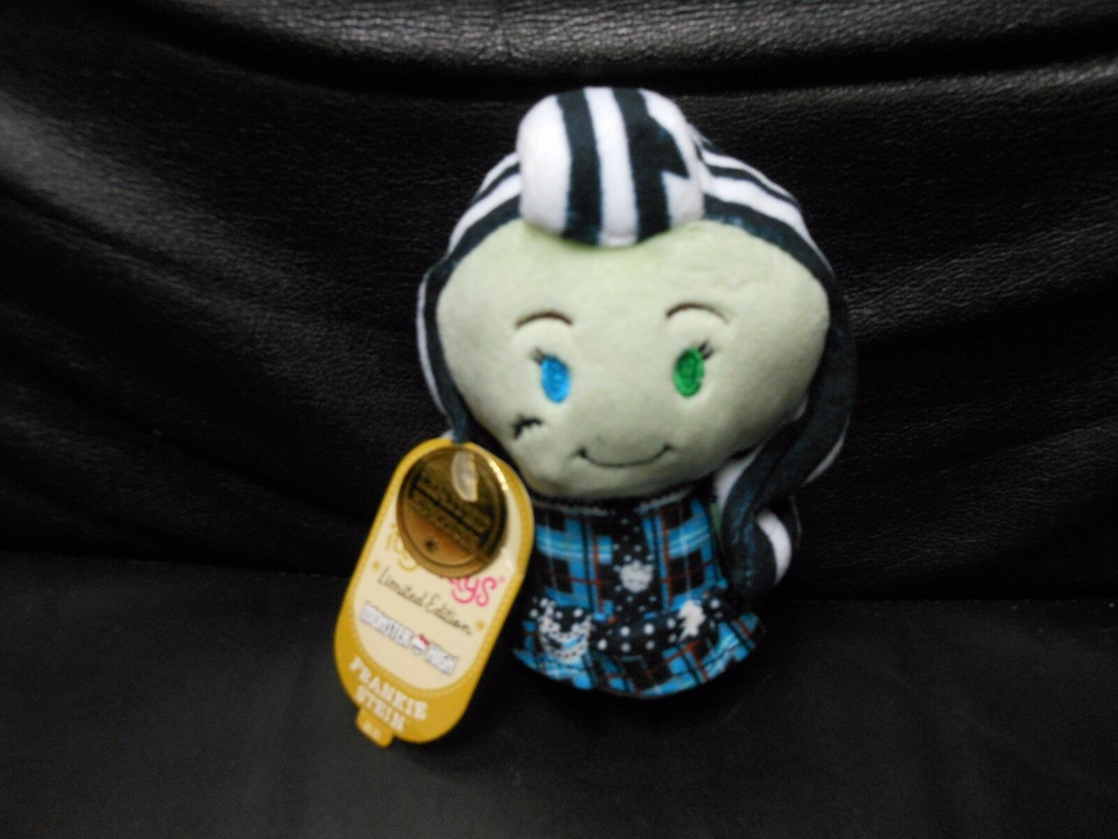 "Primary image for Hallmark Itty Bitty's ""Frankie Stein"" 2016 NEW Limited Ed. CREASE ON TAG"