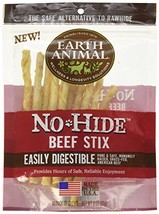 Earth Animal No-Hide Wholesome Chews – Stix Beef, 10 Count