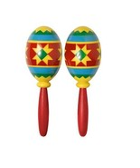 "Fiesta Maracas (2 Pack) Colors May Vary. 7-1/2"" Long - $6.64"