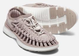 Keen Uneek O2 Größe 7 M (B) Eu 37,5 Damen Sport Sandalen Schuhe Etherea/Weiß