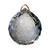 Swarovksi Crystal Faceted Ball Prism image 1