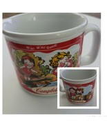Vintage Campbell's Soup Mug 2000 Campbell Soup Kids Sitting on Fence & S... - $10.00