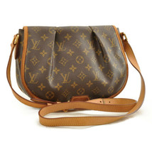 LOUIS VUITTON Monogram Menilmontant PM Shoulder Bag M40474 LV Auth 10006 - $420.00