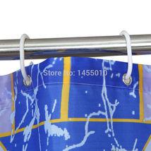 WIDEN Polyester Terylene Crack Waterproof Thicken Shower Curtains Bathroom Showe image 3
