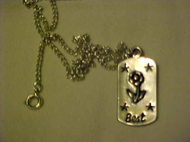 Necklace Silver Best Friends Friendship Pendant & Chain - $13.27