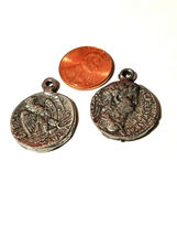 ANCIENT COIN FINE PEWTER PENDANT CHARM image 3