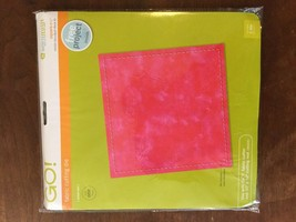 AccuQuilt GO Fabric Cutting Dies Square 6-1/2 inch Quilt Block A - $40.00