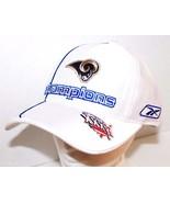 ST LOUIS OR LOS ANGELES LA RAMS REEBOK NFL CONFERENCE CHAMPIONSHIP CAP H... - $11.00