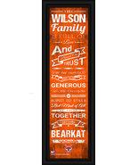 """Personalized Sam Houston State University """"Bearkat""""24x8 Family Cheer Fra... - $39.95"""