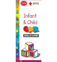 Infant and Child Cpr Skills Card American National Red Cross - $5.22