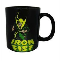 Iron Fist Image 11oz Mug Black - $19.98